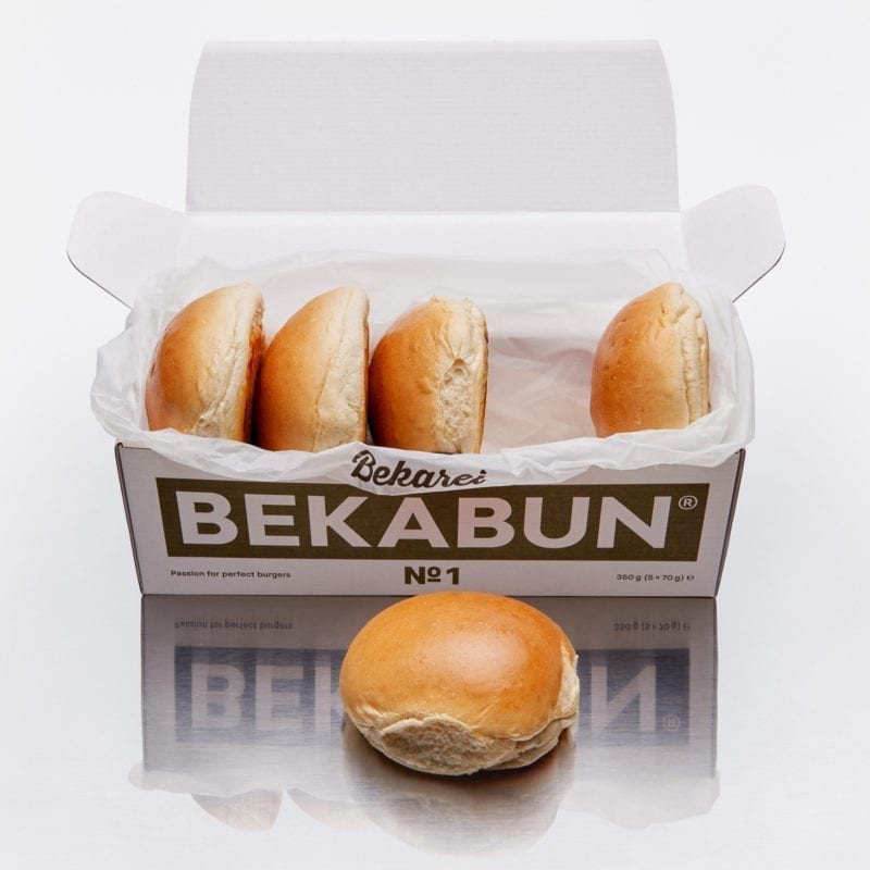 BEKABUN® No1 Classic Burger Brötchen Online Shop