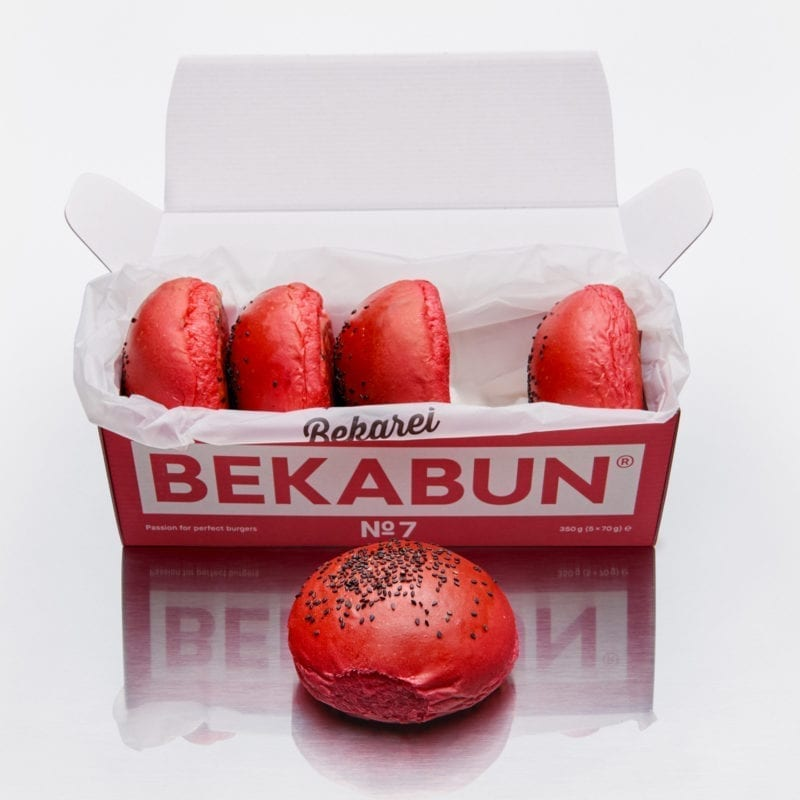 BEKABUN® No7 Hamburger Brötchen Online Shop
