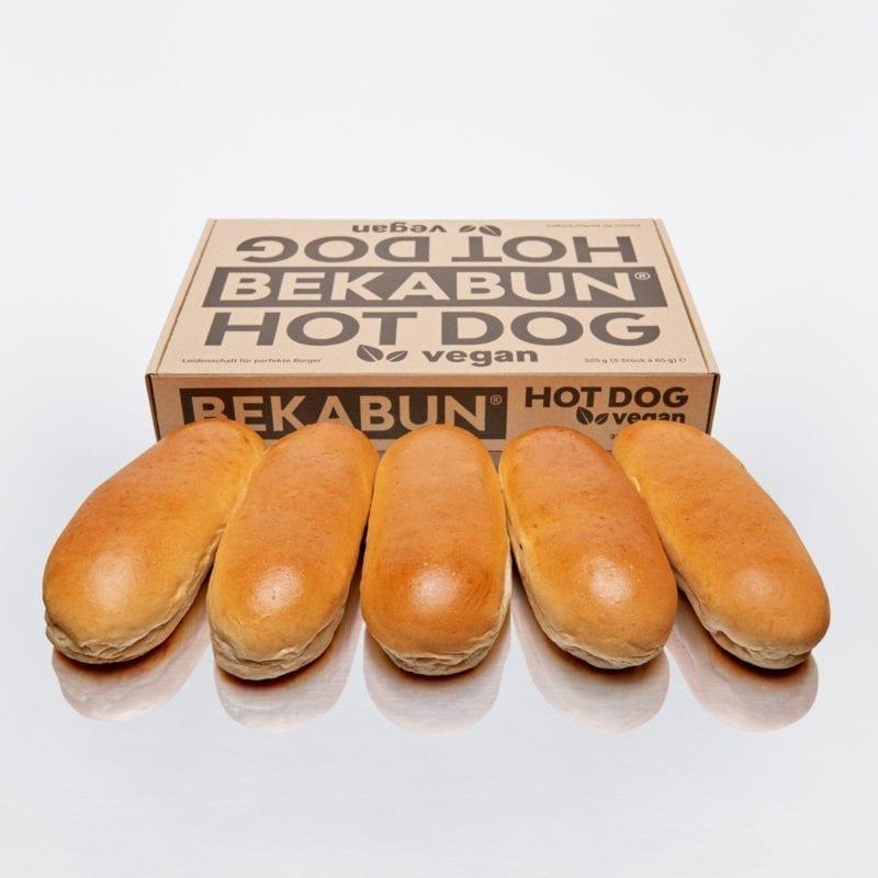 BEKABUN® Hot Dog vegan Brötchen Online Shop