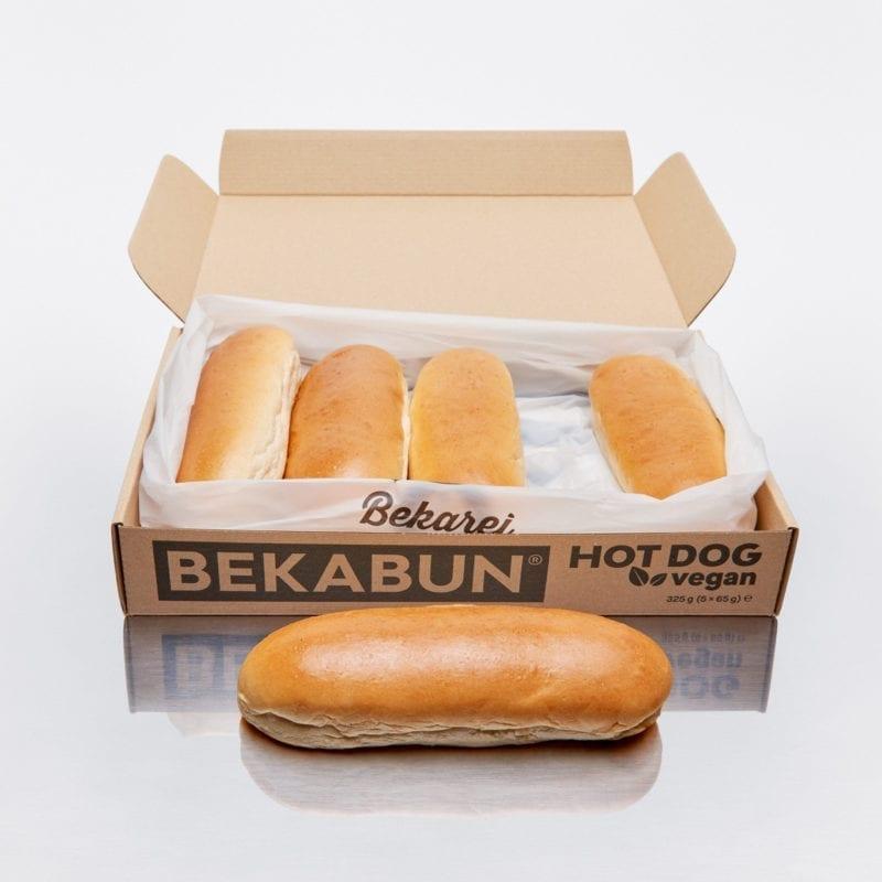 BEKABUN® Hot Dog vegan Buns Online kaufen und nach Hause liefern lassen