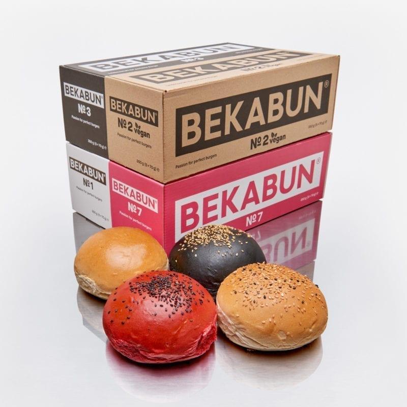 BEKABUN® Lucky 4-Paket unsere besten Burger Brötchen Online kaufen und nach Hause liefern lassen