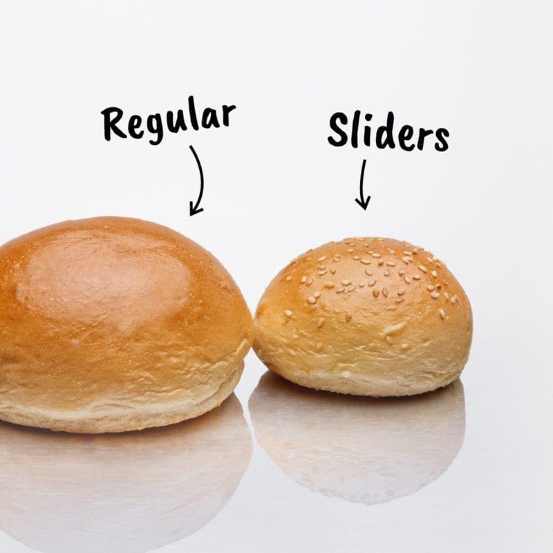 BEKABUN® unsere besten Sliders Mini Burger Brötchen