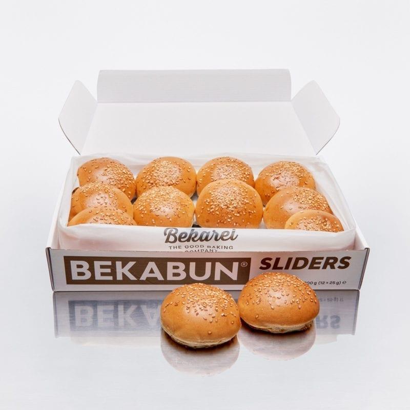 BEKABUN® Sliders Mini Burger Brötchen Online kaufen und nach Hause liefern lassen