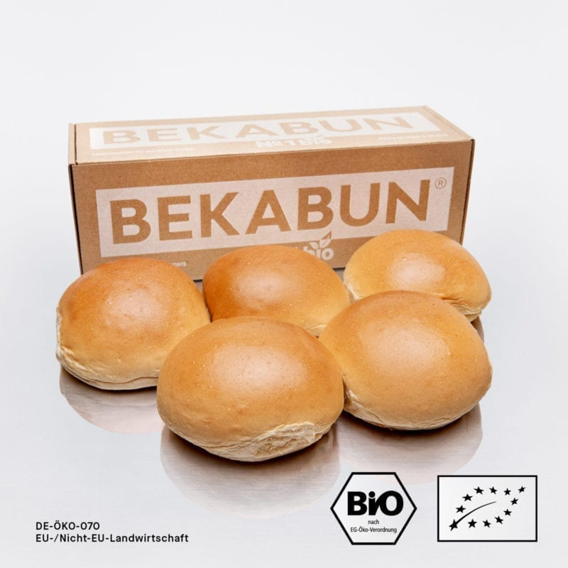 BEKABUN® No1 Bio Burger Buns Online kaufen und nach Hause liefern lassen