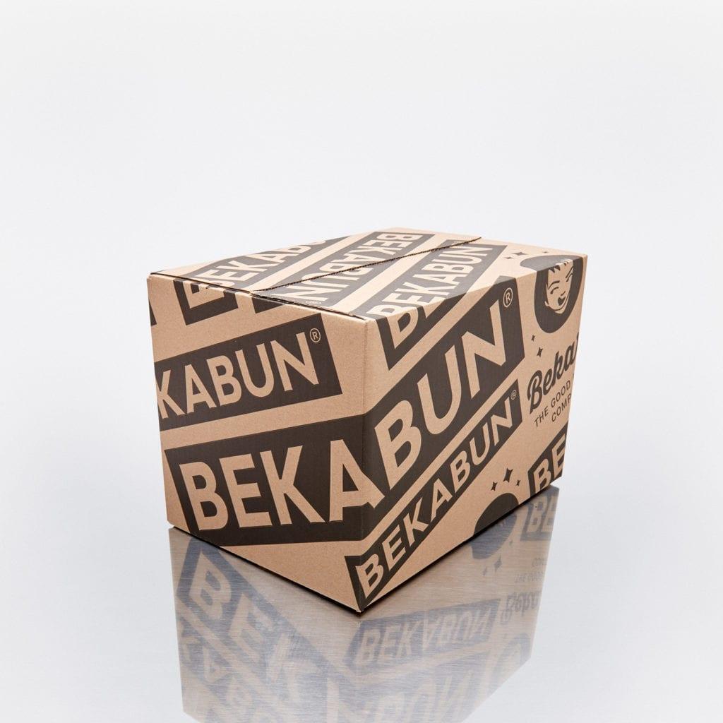 4 Boxen = kleiner Karton