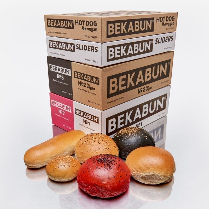 Super6-Paket: BEKABUN® Burger Brötchen Online Shop